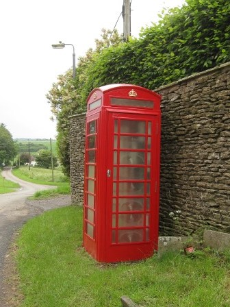 West Littletons red telephone box